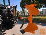 Plug, hidravlični, AgroPretex AP 35 H, za traktorje 25-50 KS