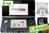Nintendo 3Ds Črn + R4I Sdhc V2013 + Microsd 8Gb + Sd 2Gb