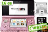 Nintendo 3Ds Roza + R4I Sdhc V2 + Microsd 16Gb + Sd 2Gb