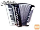 Klavirska Harmonika Gloria 120 Bas Musette