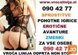 VROČA LINIJA 0904277 - SPROSTITVE- FETIŠ-DOMINACIJE
