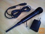 Brezžični mikrofon.