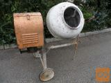 Mešalec za beton ali malto - na bencinski motor