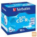 MEDIJ CD-R VERBATIM 10PK široke škatlice (43327)