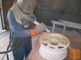 Peskanje in zaščita kovin