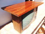 Vintage retro lesen televizor