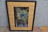 """SLIKA """"MORSKO DNO"""" (1) 44X33 cm original olje l. 1990"""