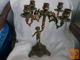 Prodam starinski svečnik z angelom