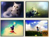 Nove Otroške Slike ( 70x50cm ali 40x30cm )