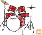 HAYMAN HM-100-MR RED Bobni boben komplet set bobnov