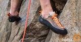 Ženska plezalna obutev znamke Mythos, vel. 38 in torbica
