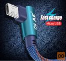 OLAF 90 stopinjski Micro USB kabel