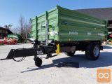 Traktorska prikolica, enoosna, Brantner E 6535