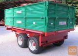 Traktorska tandem prikolica, Bellucci&Rossini BR50/RT1
