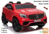 otroški avto na akumulator Mercedes GLC 63S QLS rdeč