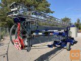 Samopostavljivi gradbeni žerjav CIBIN J50